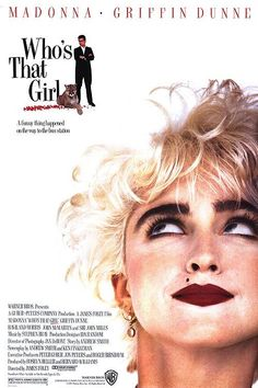 Who's That Girl? Movie Poster - Internet Movie Poster Awards Gallery