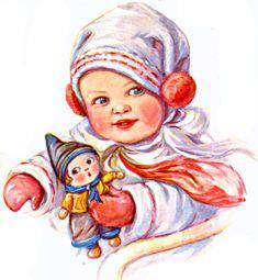 My Puzzles - Children - Vintage - Baby & Doll 1923