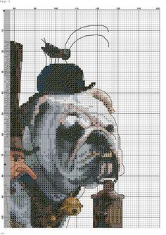 buldog 6/6 Cross Stitch Embroidery, Cross Stitch Patterns, Fizzy Moon, French Bulldog Puppies, Wordpress Theme, Line Art, Gallery, Sorting, Fictional Characters