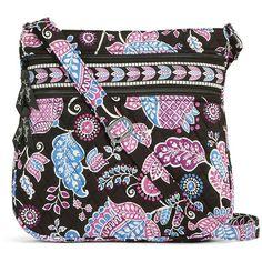 Vera Bradley Triple Zip Hipster (810.840 IDR) ❤ liked on Polyvore featuring bags, handbags, shoulder bags, alpine floral, floral purse, pocket purse, floral shoulder bag, crossbody shoulder bags and crossbody handbags