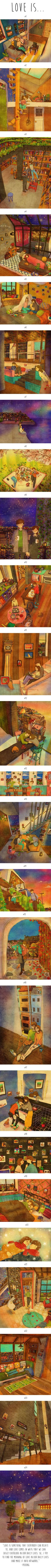 24 Illustrations Show Little Things In Life Make Part Of A Great Love Story (By Puuung)