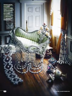 You Inspire, fine jewellery shoot Jewellery Editor: Bettina Vetter Photographer: Nato Welton