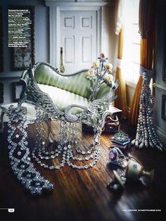 You Inspire, fine jewellery shoot Jewellery Editor: Bettina Vetter Photographer: Nato Welton