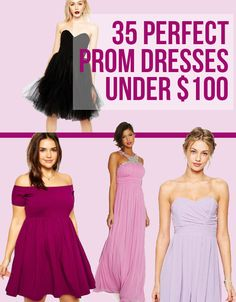 35 Impossibly Pretty Prom Dresses Under $100