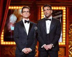 CMU Pals Zachary Quinto and Matt Bomer Team Up to Honor Pittsburgher at Tony Awards - The 412 - June 2014