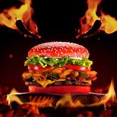 Bk burger stacker king