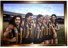 Tribute - Official AFL Website of the Hawthorn Football Club Australian Football League, National Portrait Gallery, Sports Activities, Sports Teams, Hawks, Best Games, Make Me Smile, Georgia, Legends