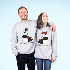 Matching couple set sweatshirts Couple sweatshirt by LetsDoMAGIC