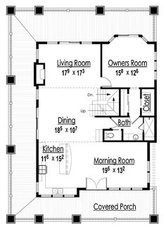 House plan 25 x 35 house plans for Reproduction house plans