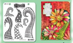 New Dylusions Stamps, Spray Colors and more! http://www.nonadesigns.com/dylusions.htm dylusions_blog