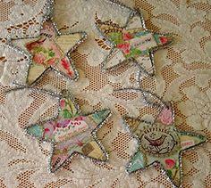 Christmas Cards & Tinsel Stars