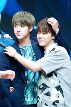 Jin and Jimin - BTS