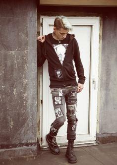 06143be3f punk rock attire Punk Rock Fashion, Grunge Fashion, Gothic Fashion, Rock  Revolution,