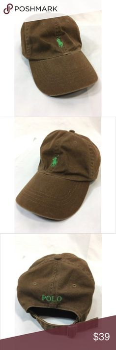 Polo ralph lauren hat baseball cap adjustable