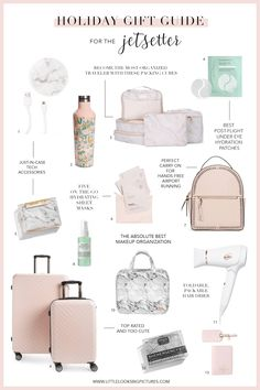 Holiday Gift Guide for the Jetsetter Holiday Gift Guide for the Jetsetter Related posts: Gifts For Men: DIY Holiday Gift Guide Holiday Gift Guide The Best Christmas Gifts For Her Ultimate Holiday Gift Guide Gift Guide: The Best Gifts for Teen Girls