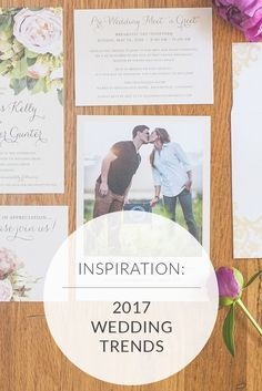 Top 2017 Wedding Trends: 32 NEW and Noteworthy Ideas | Photo by Rene Tate Photography