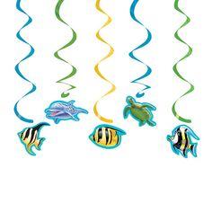 Dekoracja wisząca OCEAN (5szt.)