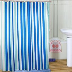 Striped Extra Long Shower Curtain Fabric Waterproof/ No More Mildews Bathroom Curtains, 5 Sizes Options Welwo http://www.amazon.com/dp/B00RMII9QA/ref=cm_sw_r_pi_dp_8RC4vb1NT1ZMH