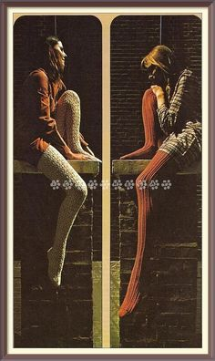 Vintage 70's Knitting Pattern to make Ladies Lovely Lacy