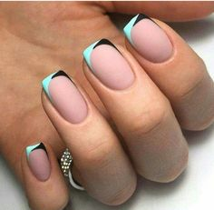 So elegant french mani
