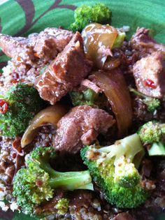 Cook and Eat Healthy: Crockpot Beef and Broccoli Recipe