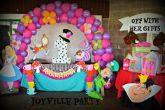 Alice in Wonderland Birthday Party Ideas | Photo 8 of 13 | Catch My Party