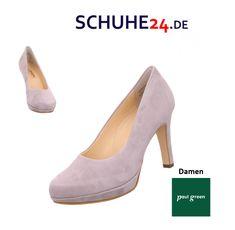 paul green riemchen pumps beige, Paul green plateau schnürer