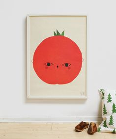 "Poster ""Tomato"" by Elisabeth Dunker / Fine Little Day"