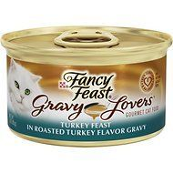 Fancy Feast Gravy Lovers Turkey Feast in Roasted Turkey Flavor Gravy Cat Food, 3 oz, 12 Cans * Check out the image by visiting the link. (This is an affiliate link and I receive a commission for the sales)