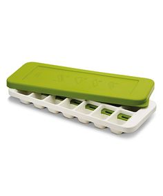 Look at this #zulilyfind! White & Green Quicksnap Plus Ice Cube Tray #zulilyfinds