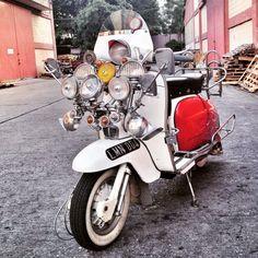 #mods #lambretta #scooter #lambrettathailand #lammanialambrettagang #lammania #wipac #