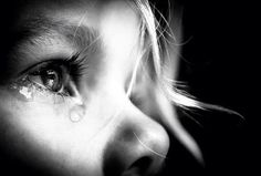 tears in eye by Dorothea Boonstra - 35 Emotional Eye Pictures  <3 <3