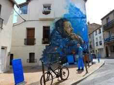 C215 New Mural In Sete, France