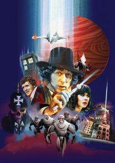 The Fourth Doctor--Tom Baker--The first Doctor I met