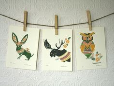Pretty soon my entire house is going to be decorated in Leah Duncan prints and it is going to be awesome.