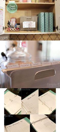 Organize all your papers in binders and files. | 26 Resolutions To Keep You Organized In 2013
