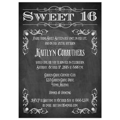 Free printable sweet 16 party invitations invitation sample sweet 16th birthday invitations invitation templates filmwisefo