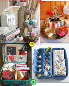 Craft room organization ideas - Blog Minha Singer lovemade