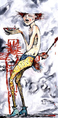 Paintings from the 2nd book of Abarat: Days of Magic, Nights of War by Clive Barker
