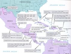 http://www.binghamtonschools.org/Downloads/US_Imperialism_Map13.jpg  Date accessed - 2 Aug 2015  Will serve as an illustration of US involvement in Latin America, as a backdrop to debates about Cuba and Puerto Rico
