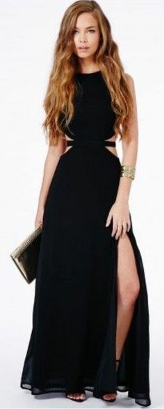 Sexy fresh hollow out dress #buyable
