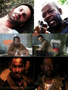 Rick and Morgan...S1.S3.S5.... Tables have turned....