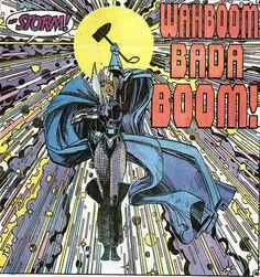 X-Men Annual 9 Storm as Thunder God