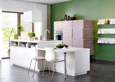 Cuisine îlot Metod - IKEA, cuisine ilot, cuisine, kitchen
