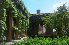 Castillo Palacio Real de Olite, #Navarra. Patio interior.