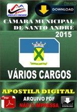Apostila Digital Concurso Camara Municipal de Santo Andre Varios Cargos 2015