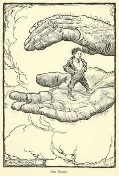 Tom Thumb by Arthur Rackham