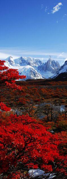 El Chalten, Los Glaciares National Park, Patagonia, Argentina