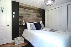 Fine Deco Chambre Blanche Et Bois that you must know, You?re in good company if you?re looking for Deco Chambre Blanche Et Bois Home Interior, Interior Decorating, Garage Loft, Teenage Room, Home Upgrades, New Room, Barn Wood, Pallet Wood, Master Bedroom