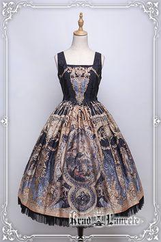 #KL#+Le Retentissement De Versailles+JSK Ⅲ型連衣裙【受注】-淘宝网全球站